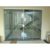 Porta De Blindex 2,10x02,00 De Correr