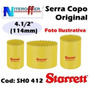 Serra Copo Bimetal Original Starret 4.1/2 Polegadas (114mm)