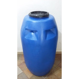 Ração Tambor / Bombona Plástico 250 Litros Tampa Rosqueável
