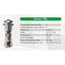 Licuadora Industrial/comercial Marca Tapisa Modelo T5l Acero