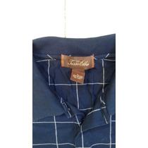 Camisa De Hombre Casual Marca Tasso Elba Talla L Envio Grati
