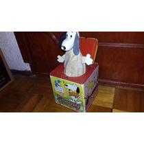 Caja Metal Musical Antigua Mattel Snoopy 1966 No Lililedy
