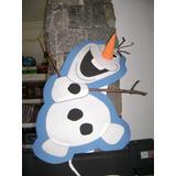 Piñata En Goma Eva Olaf Frozen,angry Bird,ben 10, Sportacus.