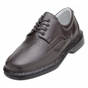 Sapato Social Masculino Alcalay Relax Conforto Mestiço Preto