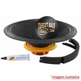 Kit Reparo Original Eros E-15 Target Bass 3.0k (4 Ohms)