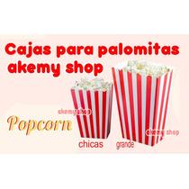Cajas Para Palomitas Tamaño Chico Fiesta