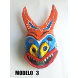 Mascaras Diablos Danzantes De Yare En Papel Mache