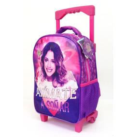 Mochila De Carro Violetta Jardin Con Licencia Disney 12