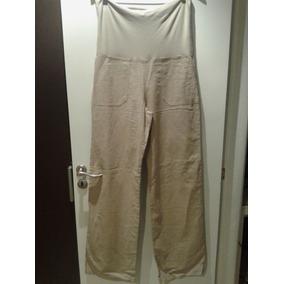 Pantalon Lino Con Cintura Para Doblar Martin Di Trento