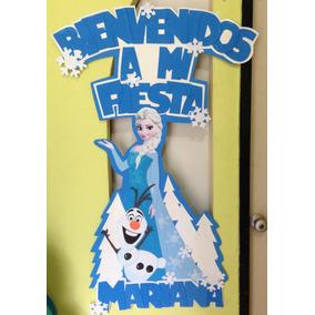 Bienvenidos A Mi Fiesta. Personalizados . Fiestas Infantiles