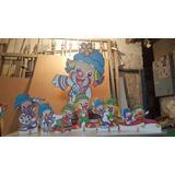 Patati Patata Chão E De Mesa,display,festa Infantil,mdf