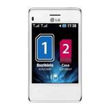 Celular Lg, Dual Chip, Câmera 2 Mp, Wifi - T375 Branco