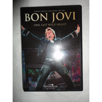 Dvd Bon Jovi One Last Wild Night - Novo