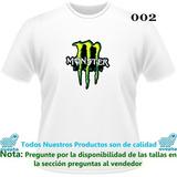 Franelas Estampadas Monster Energy