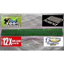 Regua Teclado Roland Xp 60 Xp30 Jx305 29contatos Menor