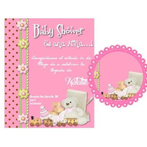 Kit Imprimible Baby Shower Invitaciones Tarjetas Nene Nena
