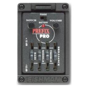 Ecualizador P/guitarra Prefix Pro Fishman (mic. Matrix)