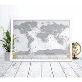 Mapa Mundi De Raspadinha Transparente - Nova Coleção 2017