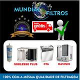 Refil Filtro Purificador Europa Noblesse Plus , Hf , Flex