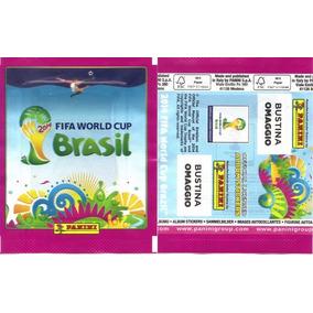 Envelope Copa Do Mundo 2014 Rosa Omaggio Bustina Italiano