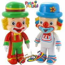 Bonecos Patati + Patata C/ Luzes E Som Musical Brinquedos