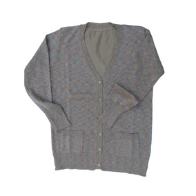Sweter Saquito Cardigan Dama Escote V Con Lurex