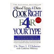 Libro Cook Right 4 Your Type: The Practical, Peter J Dadamo