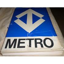Livro - Metrô De São Paulo - Pré-projeto De 1968 - 345 Pág