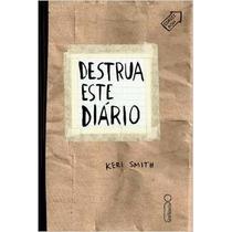 Livro Destrua Este Diário