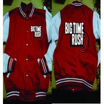 Chamarra Tipo Beisbolista Big Time Rush