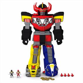 Imaginext - Power Rangers Megazord Transformador Chj18