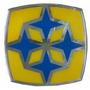 Adesivo Logotipo Grade Dianteiro Onibus Busscar 10x10