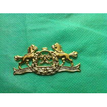 Eb5d6 Distintivo Dourado Escola De Equitação Do Exército