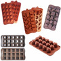Molde Forma Silicone Várias Formas Chocolate Cupcake Doces