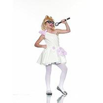 Disfraz Para Niña Niño Traje Del Vestido De Señora Blanca R