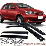 Calha De Chuva Toyota Etios Marca Tgpoli A Melhor Do Mercado
