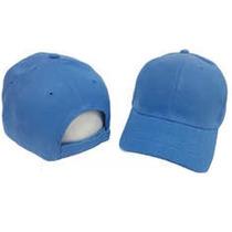 Gorras Unicolor Con Cierre Mágico - Azul Cielo