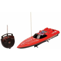 Aqua Thunder Vermelha - Lancha De Corrida - Dtc 3012
