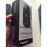 Blackberry Q10, Estuche De Cuero Nuevo!!!!!!