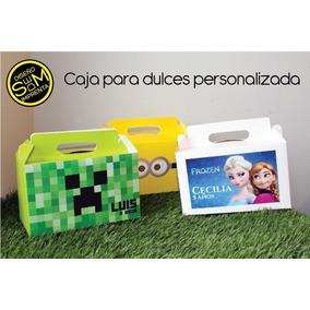 50 Caja Dulces Piñata Personalizada