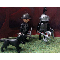 Playmobil Caballeros Medievales Dragon Morado Castillo Magic