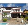 Casa De Cinco Quartos, Sendo 2 Suítes, Piscina, Garagem Para 7 Carros, Condomínio De Casas Estrada Do Coco - Ca00082