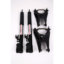 Kit Suspensao Rosca Regulavel Uno 85/ 2010... Par Traseiro
