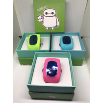 Reloj Smart Watch Niño Gps Rastreador Q50 Rosa Verde Azul