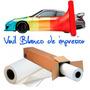 Vinil Blanco Brillante Autoadhesivo Impresion Standar Pormt2