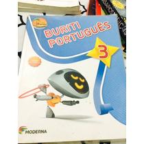 Livro Projeto Buriti Português 3 Ano Ed. 2013, Só O Livro