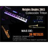 Samples De Metales Reales Para Korg Tr, Triton Le, Extreme.