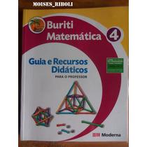 Livro Matemática 4 Projeto Buriti Para O Professor Ww