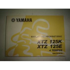 Manual Moto Yamaha Xtz 125 K E 2003 2004 2005 2006 Original
