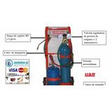 Soldadora Oxigas Oxigeno 1/2 Mt3 + Gas De 3 Kg Refrigeracion